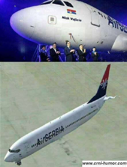 Avion - Nik Vujicic