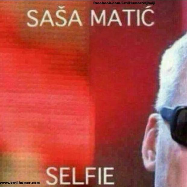 Sasa Matic selfie