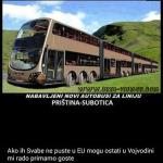 Autobusi za Albance
